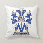 Escudo de la familia de Lauersen Almohadas