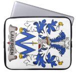 Escudo de la familia de Lauersen Funda Ordendadores