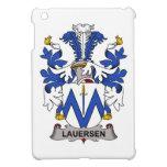 Escudo de la familia de Lauersen iPad Mini Fundas
