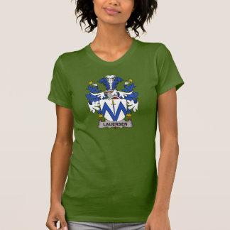 Escudo de la familia de Lauersen Camisetas
