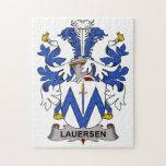 Escudo de la familia de Lauersen Rompecabezas