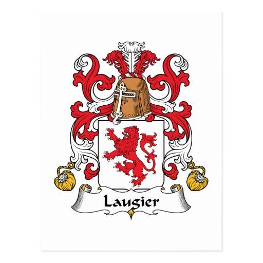 Escudo de la familia de Laugier Postales