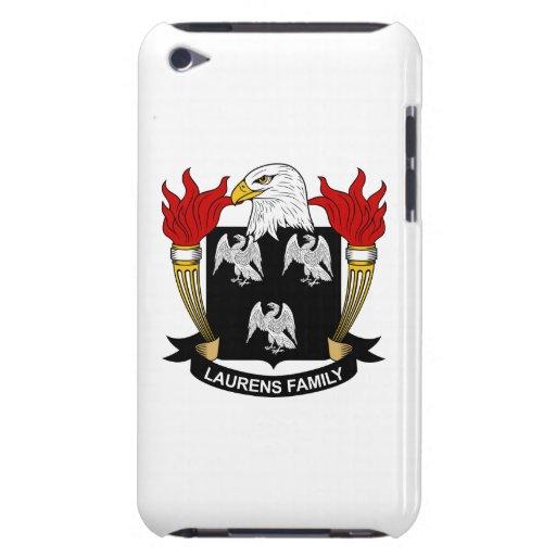 Escudo de la familia de Laurens iPod Case-Mate Protector