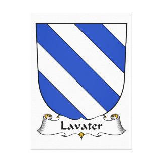 Escudo de la familia de Lavater Impresión En Lona Estirada