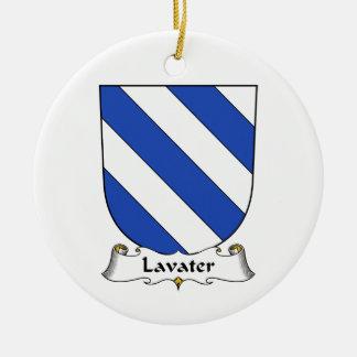 Escudo de la familia de Lavater Ornamentos Para Reyes Magos