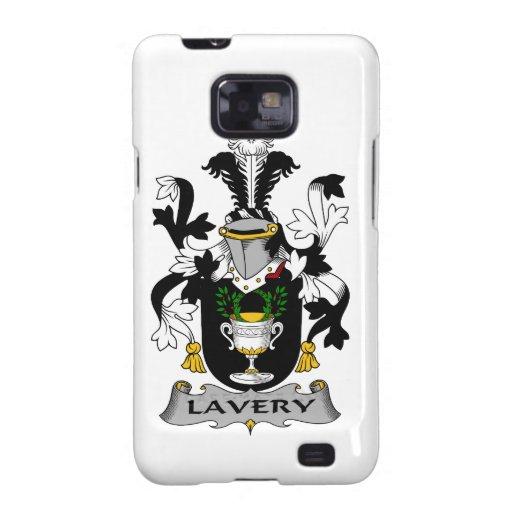 Escudo de la familia de Lavery Samsung Galaxy SII Carcasa