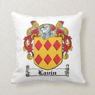 Escudo de la familia de Lavin Almohada