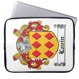 Escudo de la familia de Lavin Fundas Portátiles