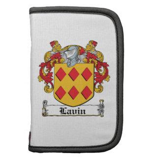 Escudo de la familia de Lavin Planificadores