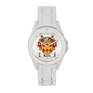 Escudo de la familia de Lavin Reloj De Mano