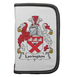 Escudo de la familia de Lavington Planificadores