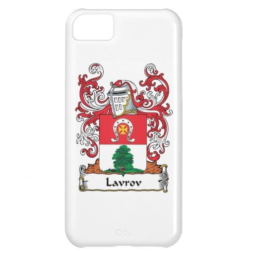Escudo de la familia de Lavrov Funda Para iPhone 5C