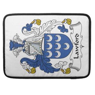 Escudo de la familia de Lawford Fundas Para Macbook Pro