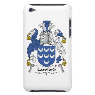 Escudo de la familia de Lawford iPod Case-Mate Coberturas