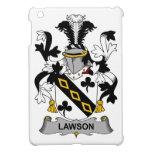 Escudo de la familia de Lawson iPad Mini Fundas