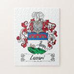 Escudo de la familia de Lazzari Rompecabeza Con Fotos