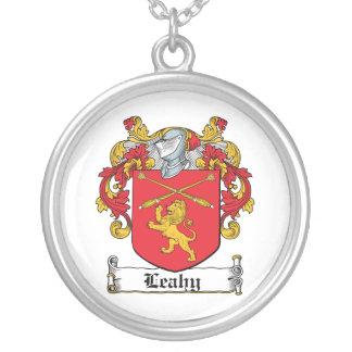 Escudo de la familia de Leahy Colgante Redondo