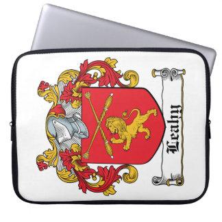 Escudo de la familia de Leahy Funda Portátil