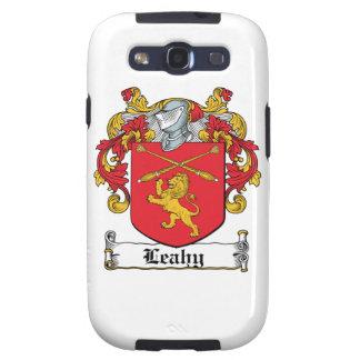 Escudo de la familia de Leahy Galaxy S3 Fundas