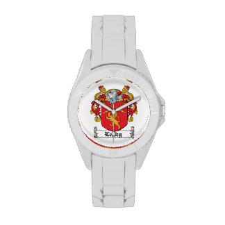 Escudo de la familia de Leahy Relojes De Pulsera
