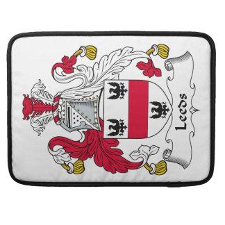 Escudo de la familia de Leeds Funda Macbook Pro