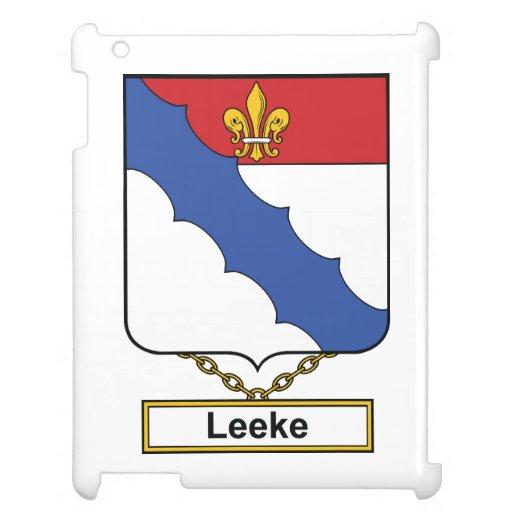 Escudo de la familia de Leeke