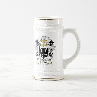 Escudo de la familia de Leeuw Taza De Café
