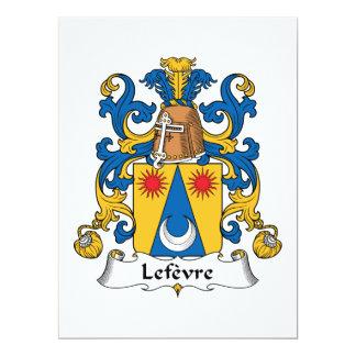 Escudo de la familia de Lefevre Anuncios