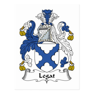 Escudo de la familia de Legat Postales