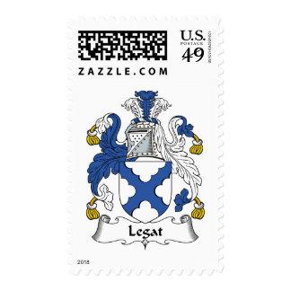 Escudo de la familia de Legat Sello