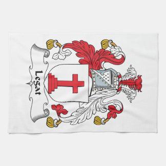 Escudo de la familia de Legat Toalla