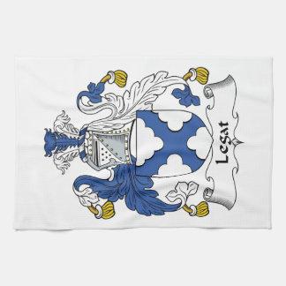 Escudo de la familia de Legat Toallas De Mano