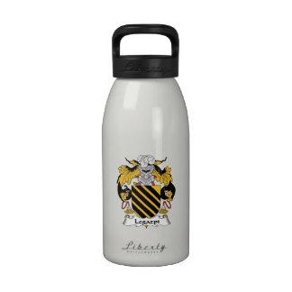 Escudo de la familia de Legazpi Botella De Agua