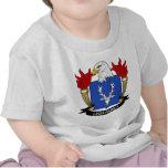 Escudo de la familia de Legg Camiseta