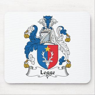 Escudo de la familia de Legge Alfombrilla De Raton
