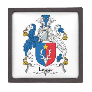 Escudo de la familia de Legge Caja De Recuerdo De Calidad