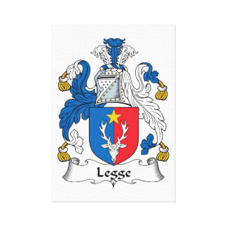 Escudo de la familia de Legge Impresiones En Lona