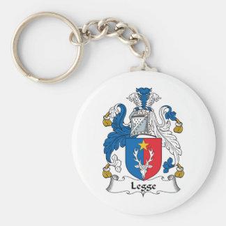 Escudo de la familia de Legge Llavero