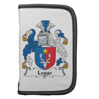 Escudo de la familia de Legge Organizadores