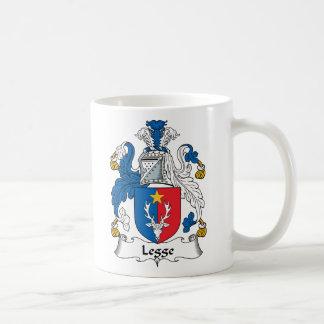 Escudo de la familia de Legge Taza