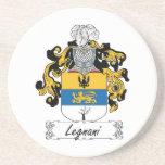 Escudo de la familia de Legnani Posavasos Personalizados
