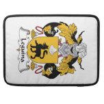 Escudo de la familia de Leguina Fundas Para Macbooks