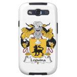 Escudo de la familia de Leguina Galaxy S3 Fundas