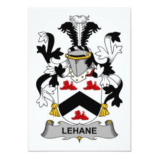 Escudo de la familia de Lehane Invitacion Personalizada