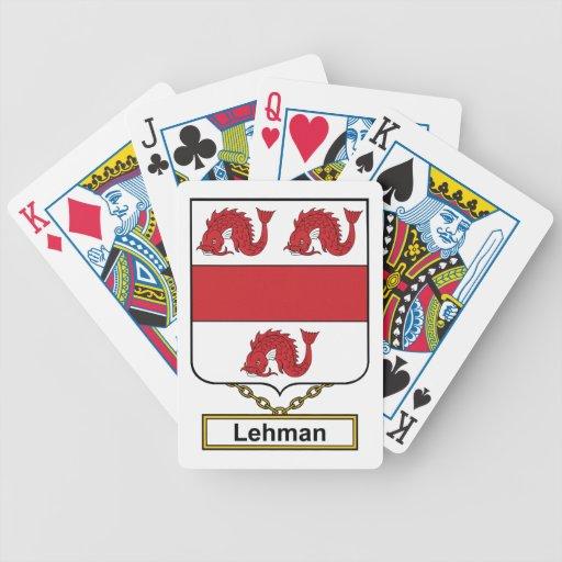 Escudo de la familia de Lehman Baraja