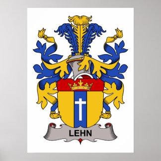 Escudo de la familia de Lehn Impresiones