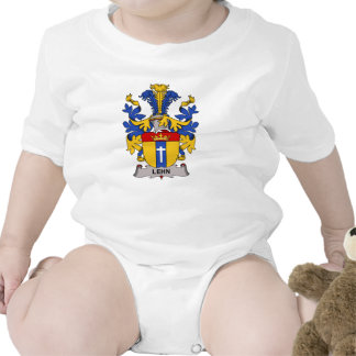 Escudo de la familia de Lehn Traje De Bebé