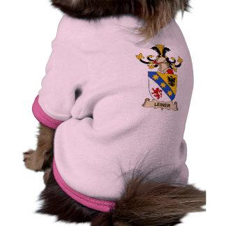 Escudo de la familia de Leiner Camisetas De Perro