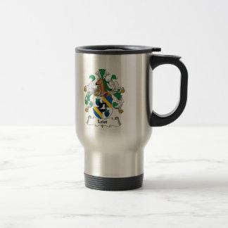 Escudo de la familia de Leist Tazas De Café