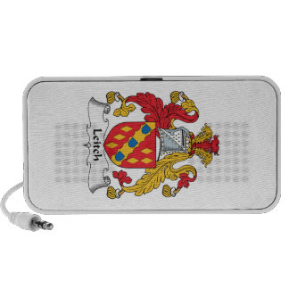 Escudo de la familia de Leitch iPod Altavoces